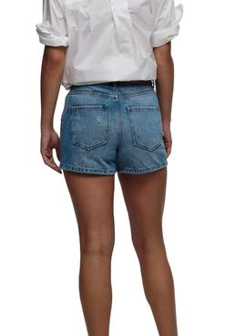 Short Only Kelly Denim pour Femme