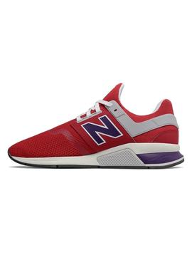 Baskets New Balance 247 NMT Rouge Pour Homme
