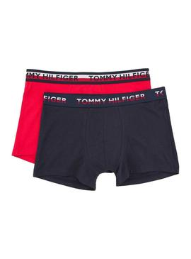Pack Coffres Tommy Hilfiger Trunk Rouge Homme