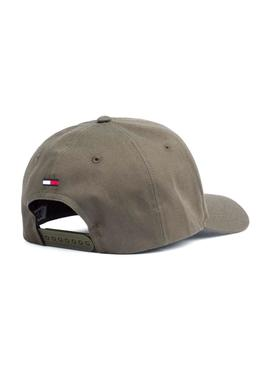 Casquette Tommy Jeans Logo Vert Homme