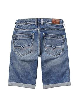 Shorts Pepe Jeans Cashed RK2 Denim Enfante