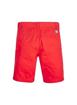Short Tommy Hilfiger Essential Twill Chino Rouge