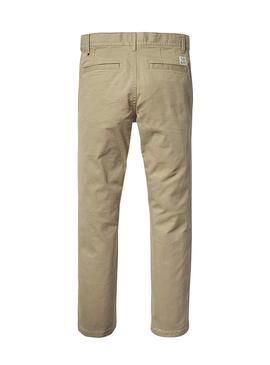 Pantalon Tommy Hilfiger OSTW PD Marron