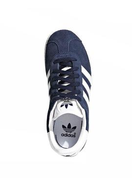 Baskets Adidas Gazelle C Marin