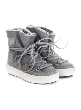 Bootss Moon Boot Pulse Gray for Girl