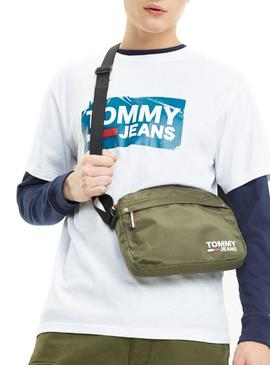 Sac Banane Tommy Jeans Cool City Vert Homme