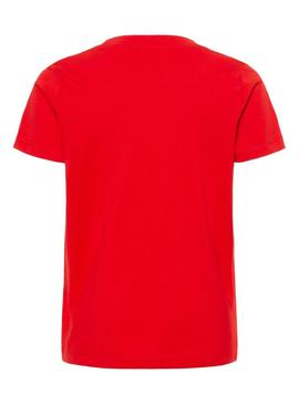 T-Shirt Name It Kadir Rouge Enfante