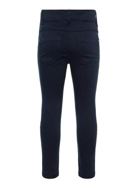 Bleu Name It Tinnel Marin Fille Pantalon