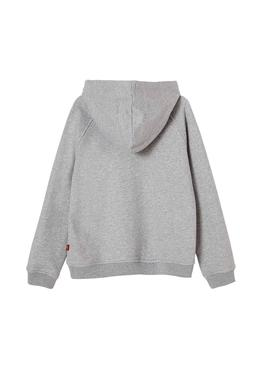 Sweat Levis Berlin Gris Fille