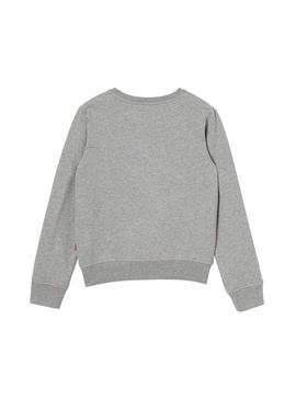 Sweat Levis Billie Sequins Gris Fille