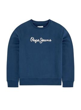 Sweat Pepe Jeans Winter Ronit Blue Enfante