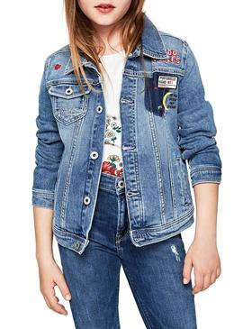 Veste Pepe Jeans New Berry Patch Fille