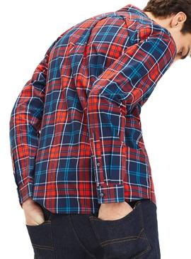 Chemise Tommy Jeans Essential Check Multi Homme