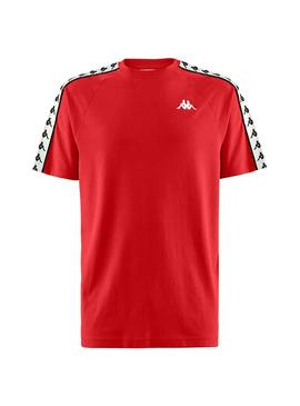 T-Shirt Kappa Coen Authentic Rouge