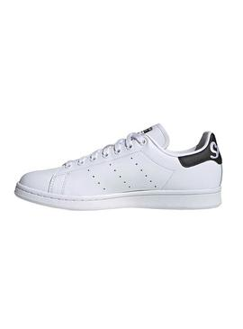 Baskets Adidas Stan Smith Blanc Lettres Femme