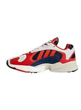 Baskets Adidas Yung 1 Rouge Pour Homme