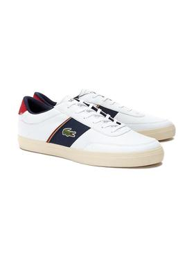 Baskets Lacoste Court-Master Blanc Homme