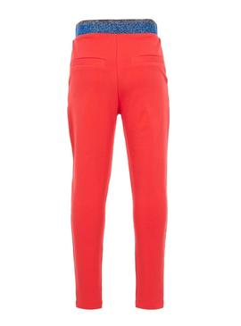 Pantalon Name It Lucia Rouge Fille