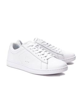 Baskets Lacoste Carnaby Evo Blanc Pour Femme