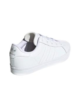 Baskets Adidas Coast Star White Fille et Enfante