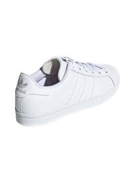 Baskets Adidas Coast Star Blanc Teen