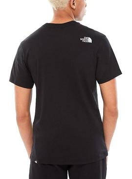 T-Shirt The North Face Noir Fin
