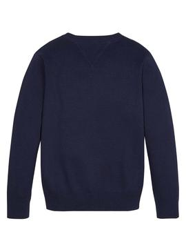 Pull Tommy Hilfiger TH Marin Pour Enfantes
