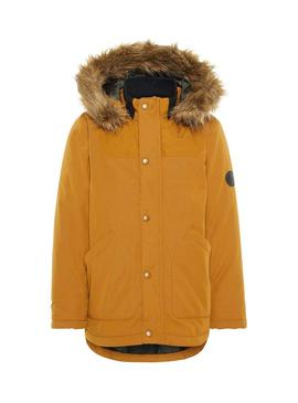 Parka Name It Malien Bronze Pour Enfante