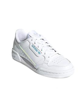 Baskets Adidas Continental 80J Blanc Teen