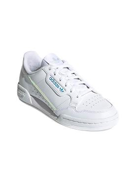 Baskets Adidas Continental 80C Blanc Kids