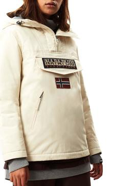 Veste Napapijri Rainforest W Pocket Beige Femme