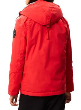 Veste Napapijri Rainforest Pocket Rouge W Femme