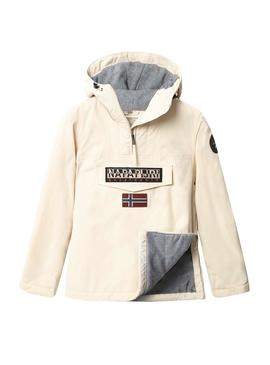 Veste Napapijri Rainforest Winter Beige Femme