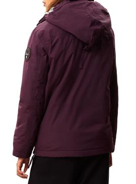 Veste Napapijri Rainforest Winter Violet Femme