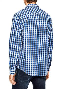 Chemise Pepe Jeans Neal Bleu pour Homme