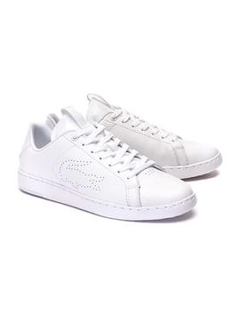 Baskets Lacoste Carnaby Evo Light Blanc Femme
