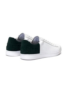 Baskets Lacoste Carnaby Evo Blanc Vert Homme