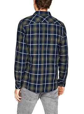 Chemise Pepe Jeans Chase Cadres pour Homme