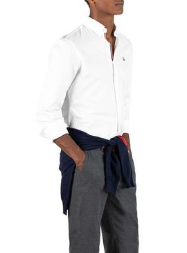 Chemise El Ganso Pin Point Classic Flag Blanc