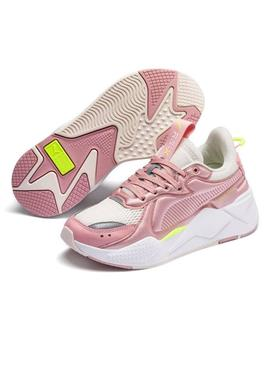 Baskets Puma RS-X Softcase Rose Pour Femme