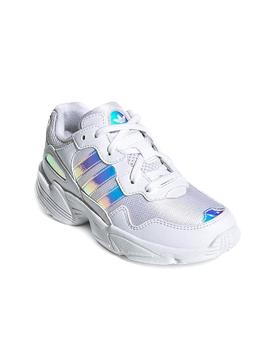 Baskets Adidas Yung-96 Blanc Teen