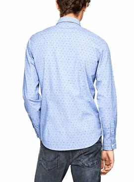Chemise Pepe Jeans Gregory Pois Pour Homme