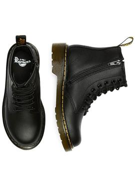 Bootss Dr Martens 1460 Softy Black Pour Kids