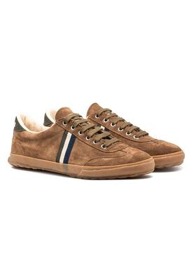 Baskets El Ganso Match Camel Homme