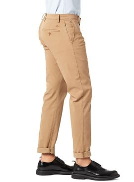 Pantalon Dockers Smart Chino Beige Homme