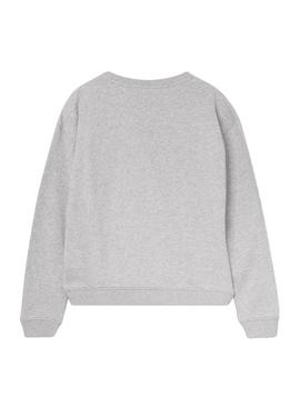 Sweat Pepe Jeans Nancy Gris Fille