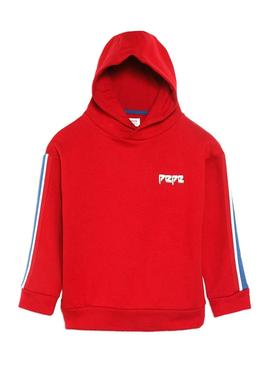 Sweat Pepe Jeans Nars Rouge Fille