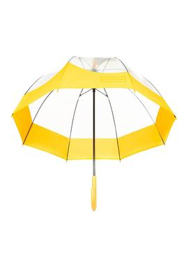 Parapluie Hunter Moustache Jaune