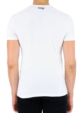 T-Shirt Antony Morato Stampa Blanc Pour Homme