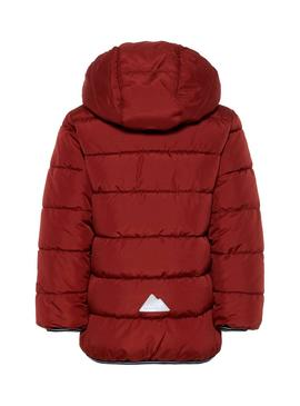 Veste Name It Mus Rouge Enfante